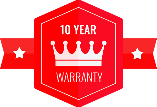10 year Adelaide Roof Restoration Warranty