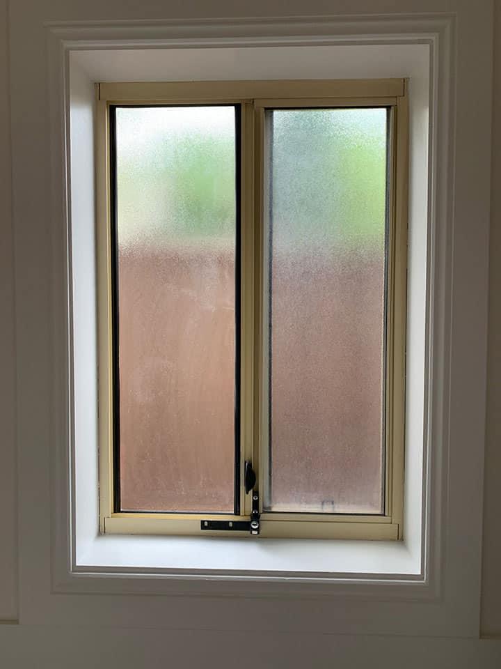 Adelaide Aluminium Window Painting Before