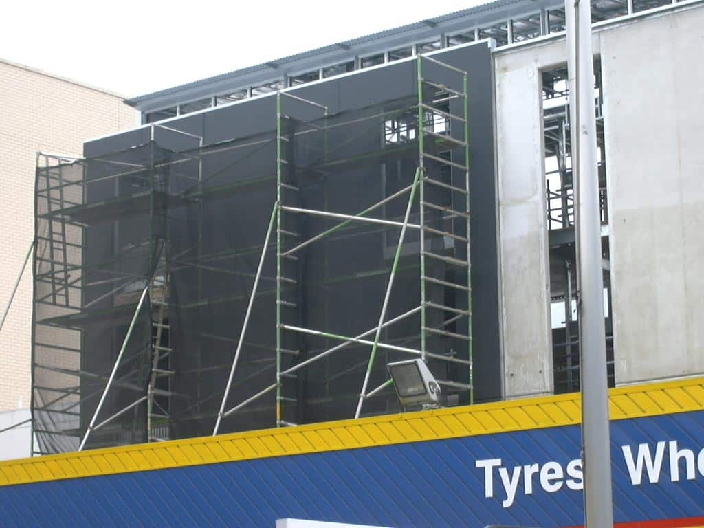 Difficult High Access Scaffolding Adelaide Commercial Painter