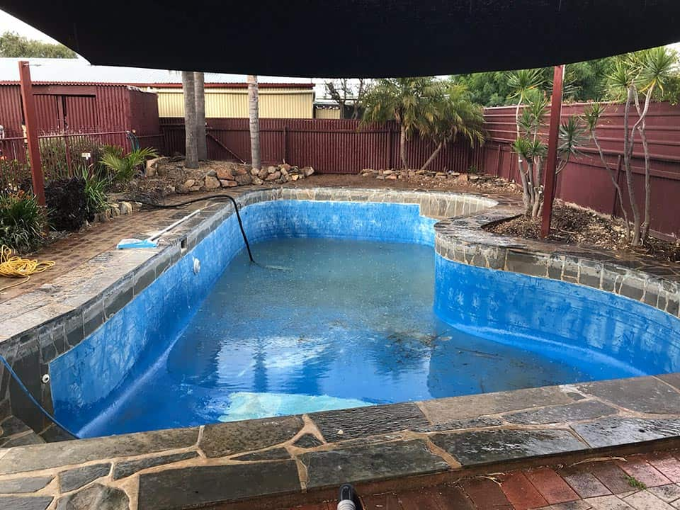 Drain pool for painting and restoration Adelaide