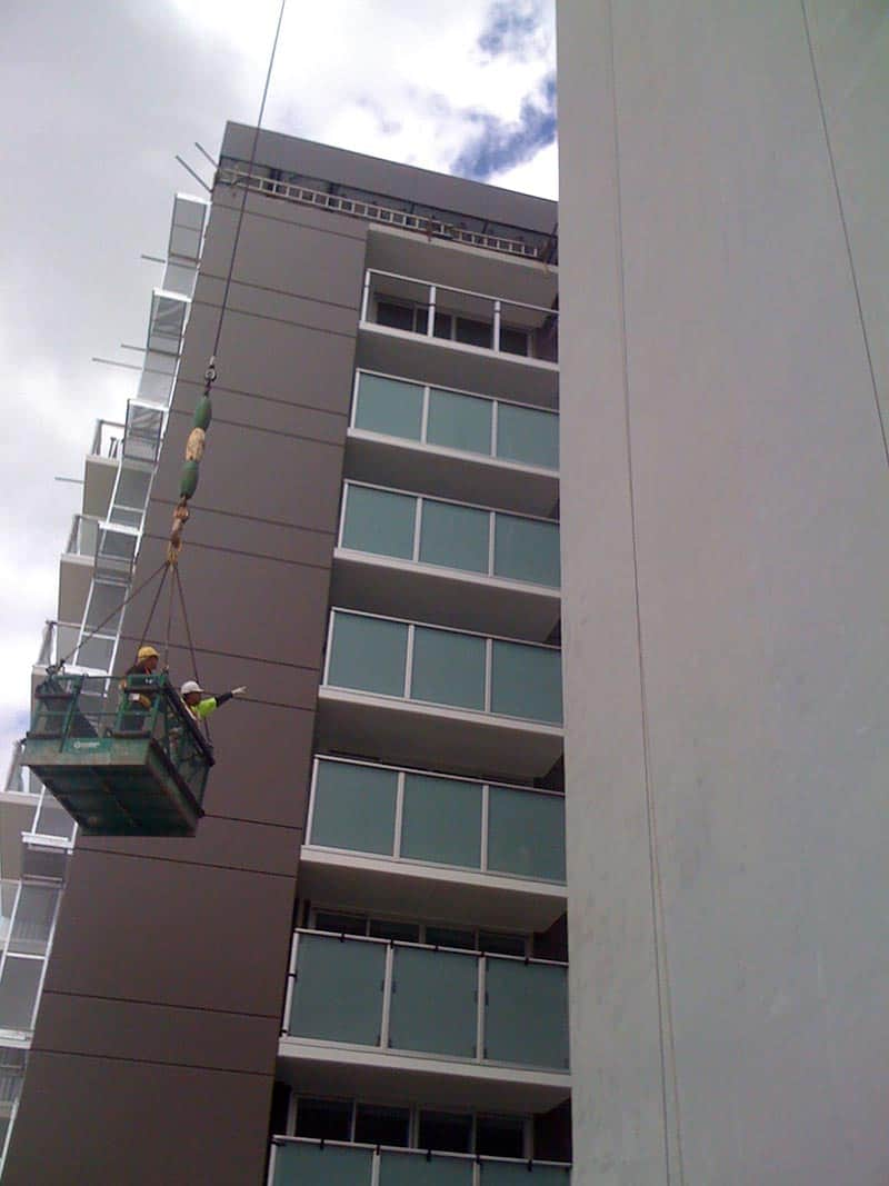 Multi Storey Tower Crane Painting Paint Professionals