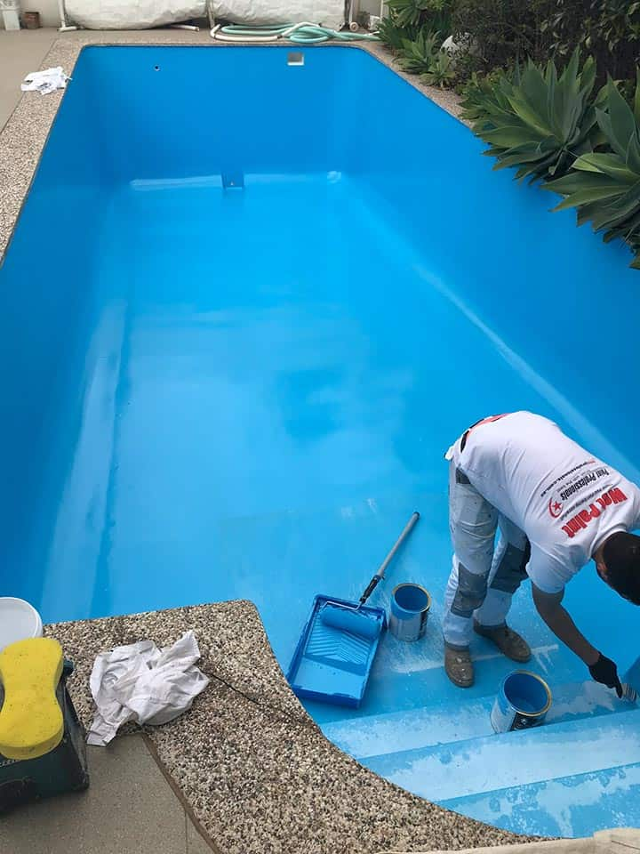 Painting Pool Steps Adelaide Paint Professionals