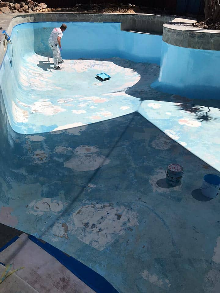 Pool Painting Adelaide Prep