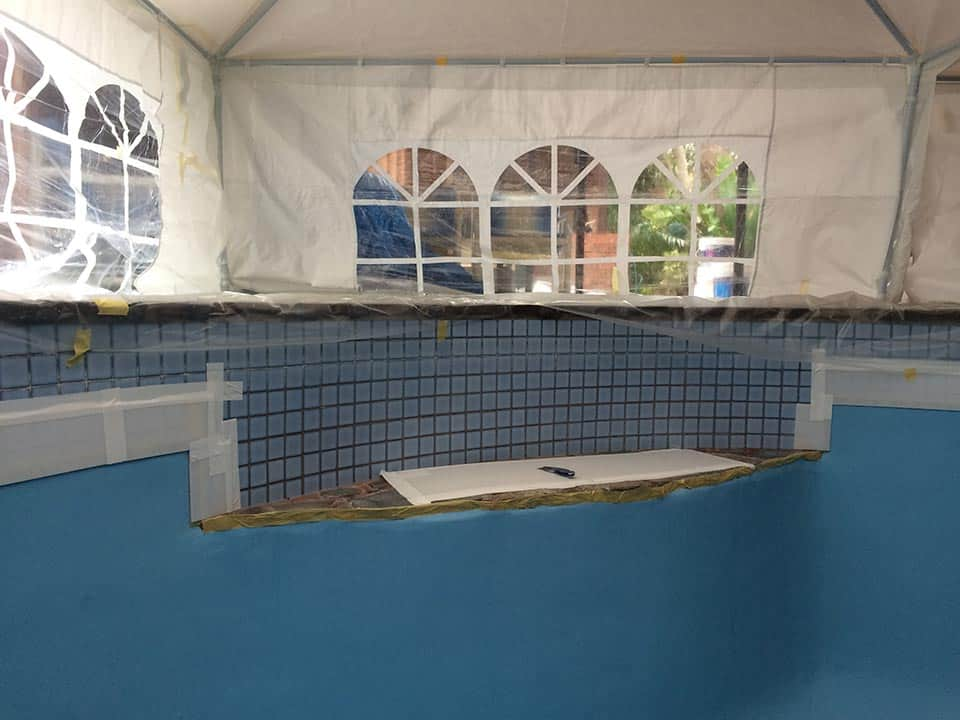 Pool Painting Adelaide Careful Protection