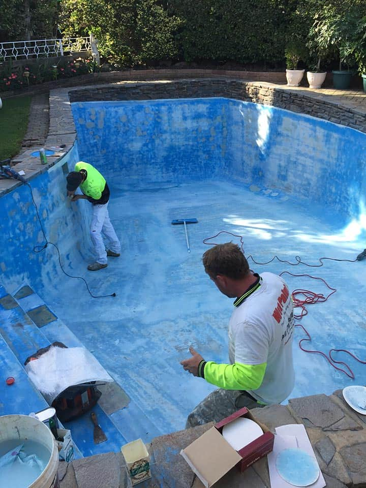 Pool Painting Adelaide Sanding