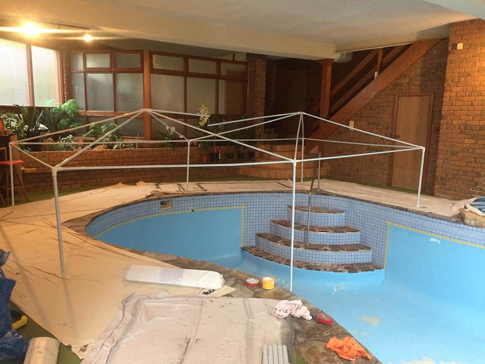 Pool Painting Set up Adelaide