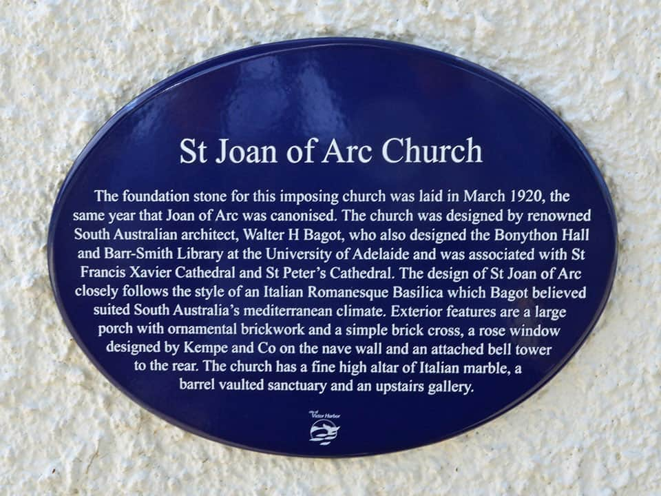 Joan of Arc Catholic Church Heritage Painters Adelaide