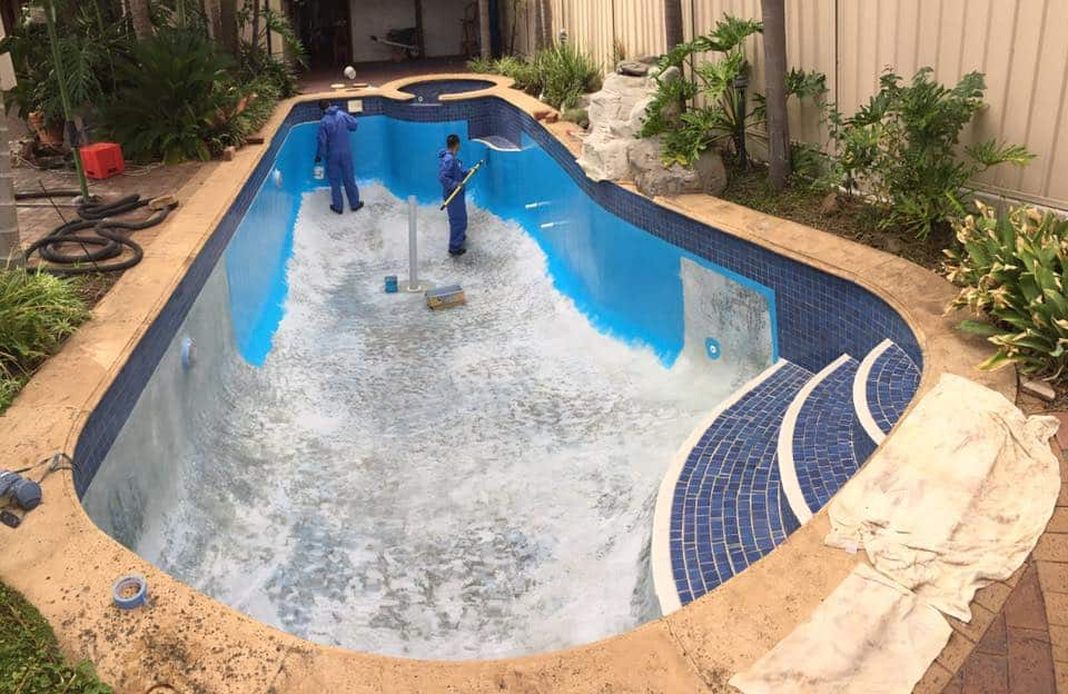 Swimming Pool Painting Adelaide Before